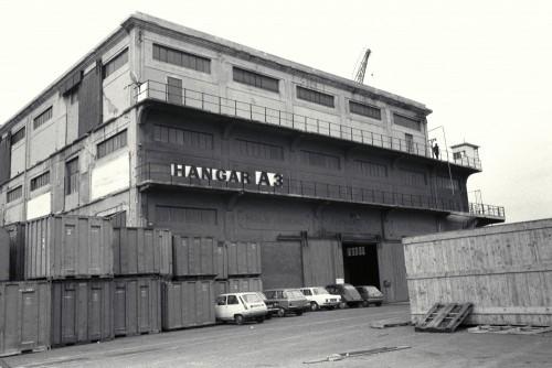Le centre de rétention d'Arenc, 1976, photographie de Jacques Windenberger. AD13, 72 Fi 32-38
