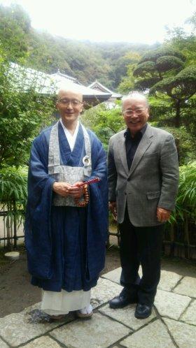 横田管長と私