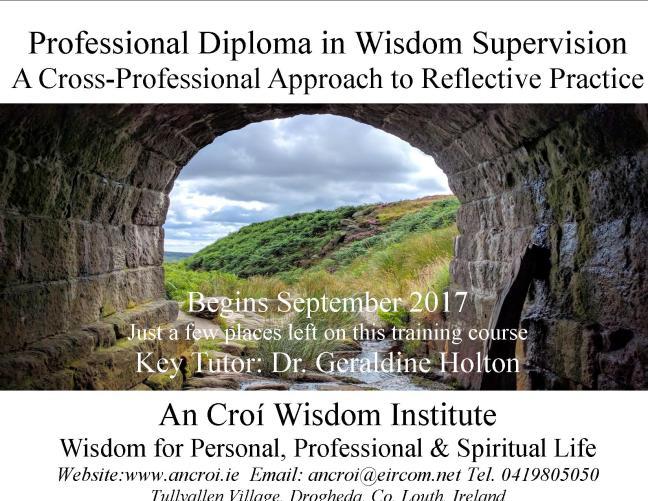 Wisdom Supervision Postcard Aug 2017