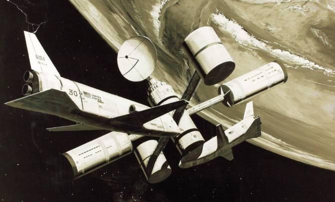 space shuttle concept art 6