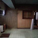 浴室リフォームの場所は昔の台所(大浜町)