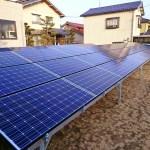 野立て太陽光発電、発電開始まであとわずか!(大成町)