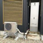 電気温水器からエコキュートに取替(大成町)