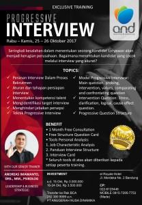 Progressive Interview Training Bandung