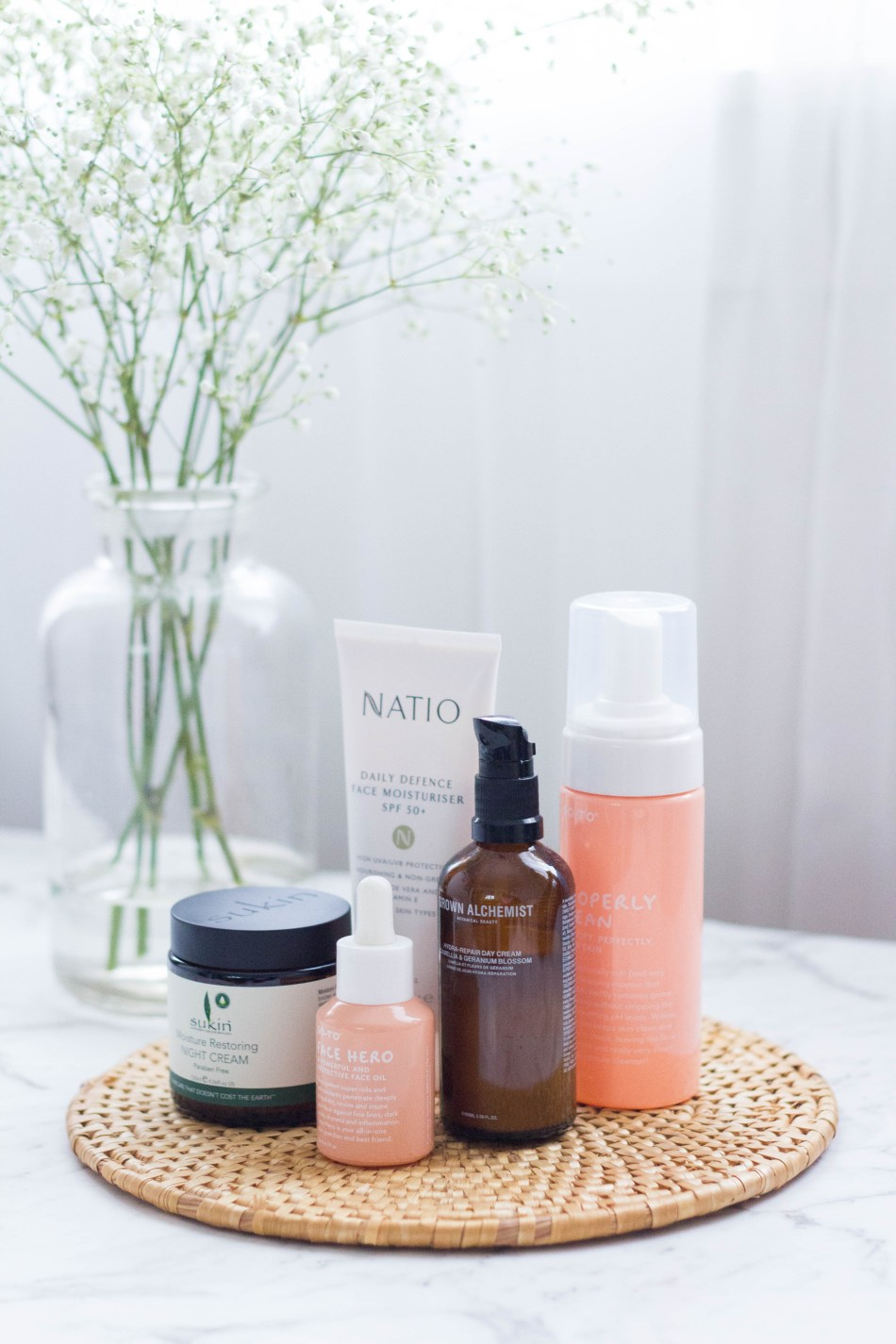 My Winter Skincare Products