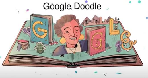 نتيلة راشد جوجل يحتفل بها في الصفحة الرئيسية