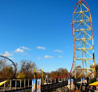 Top Thrill Dragster - سيداربوينت بولاية أوهايو - امريكا