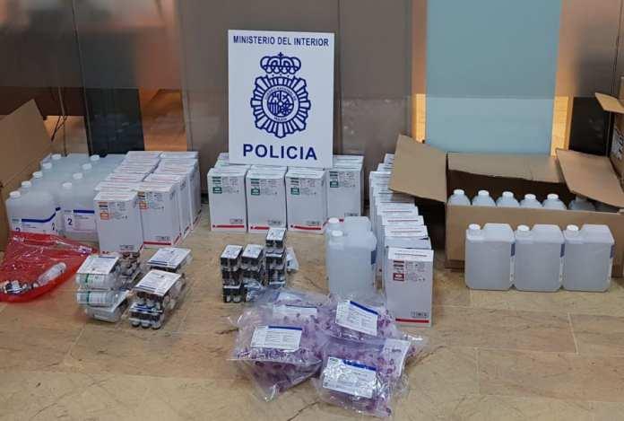 productos farmacéuticos ilegales