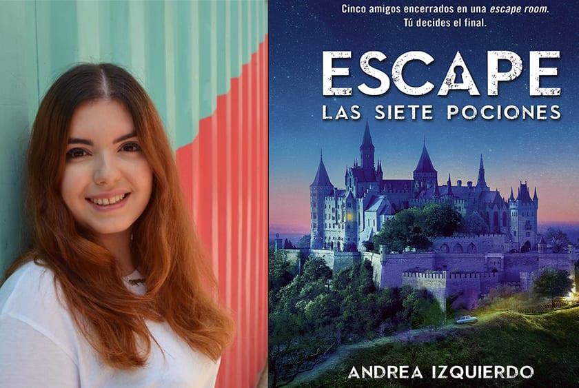 Escape Las siete pociones Andrea Izquierdo