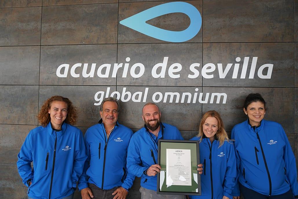 Acuario de Sevilla_Certificado Huella Carbono