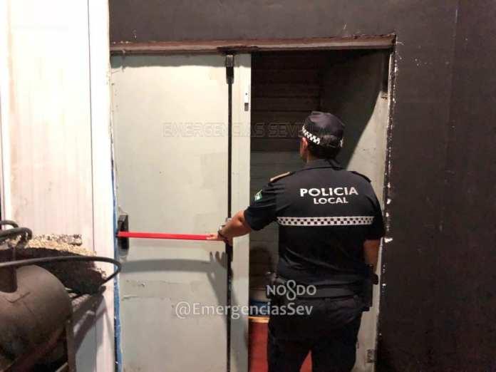 Policía Local precinto establecimientos