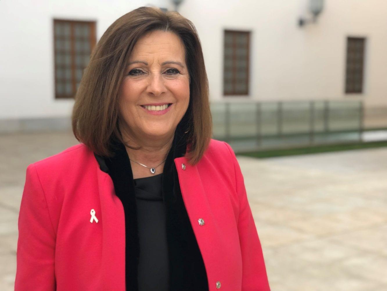 María José Sánchez Rubio Consejera de Igualdad y Políticas Sociales de la Junta de Andalucía