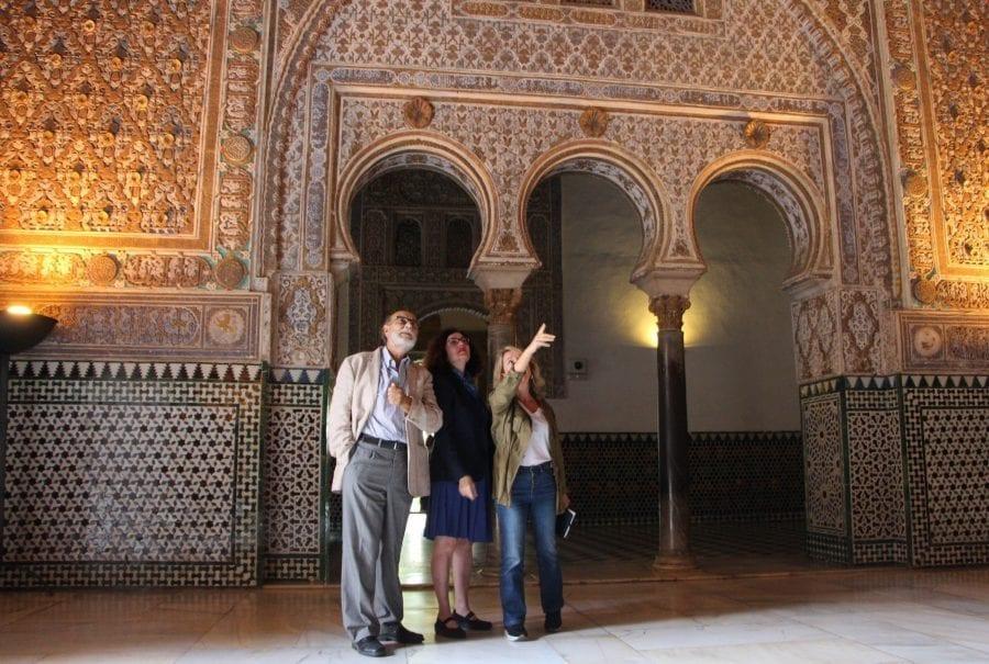 Trabajos de conservación preventiva del conjunto de las yeserías del Palacio Mudéjar