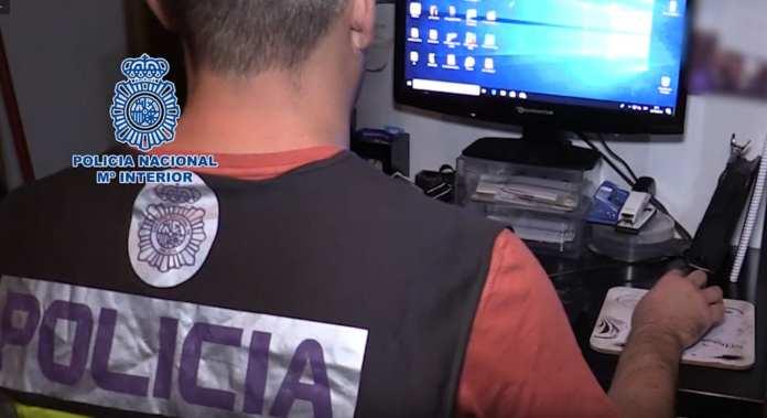 Algeciras detenidos Pornografía infantil