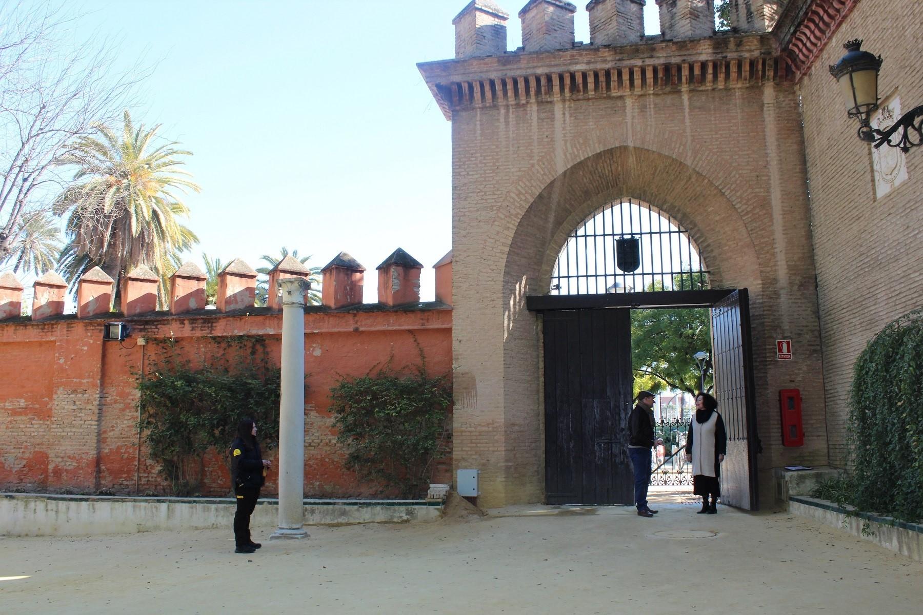 Puerta Alcoba Alcazar Sevilla