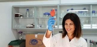 La investigadora del IRNAS Beatriz Gámiz, responsable del estudio.