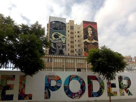 Cosa vedere al Soho di Malaga - Arrivando al Soho, si scorgono le prime opere di Street Art.