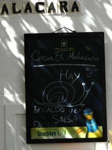 Caracoles Andalusia Cordoba lumache