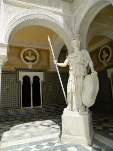 Casa_pilatos_siviglia_andalusia_palazzo_statua