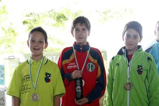 podium alevines campeonato andalucia bolo andaluz montaña 2013