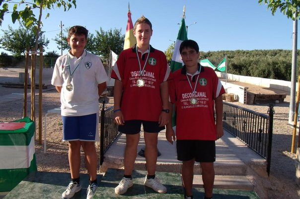 podium-infantiles-Campeonatos-Andalucía-Valle
