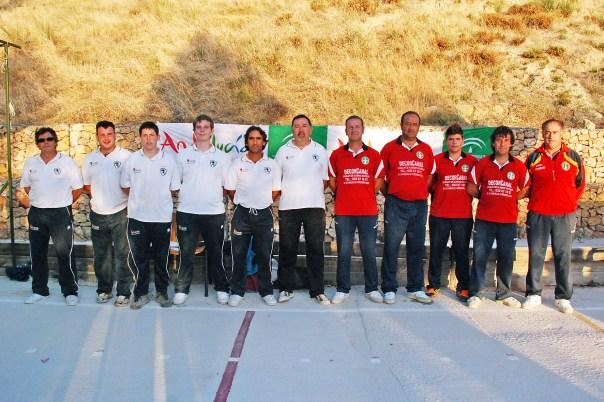 Cazorla vs Sierra Villas final Liga de Bolo Andaluz