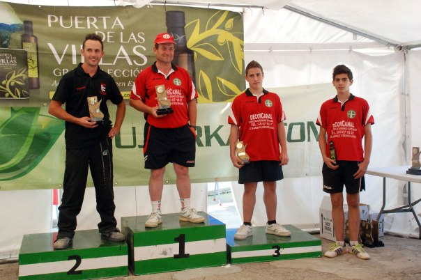 Podium-2ª-categoria-trofeo-parque-natural-bolo-andaluz-2014