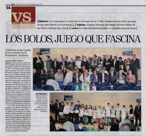 Recorte Diario Jaén 141119 reducido