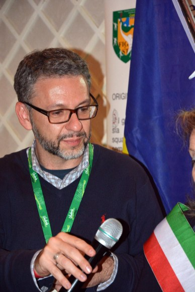 Cena social Festival European Games Days 08