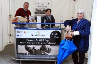delegacionesFestival European Games Days 40