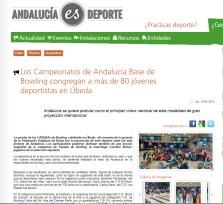 Recorte Andalucía es Deporte