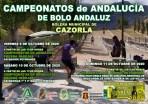 CARTEL CAMPEONATOS DE ANDALUCÍA DE BOLO ANDALUZ PAREJAS RED