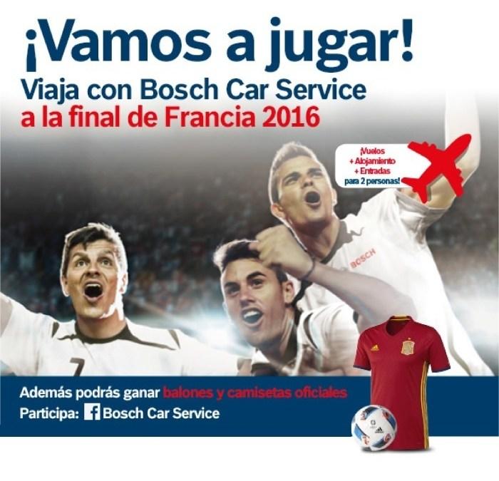 Viaja a la final de la Eurocopa con Bosch Car Service *PROMOCIÓN FINALIZADA