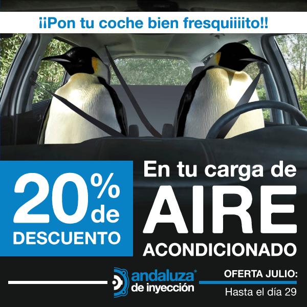 ¡Carga el aire acondicionado de tu coche por un 20% menos! *PROMOCIÓN FINALIZADA