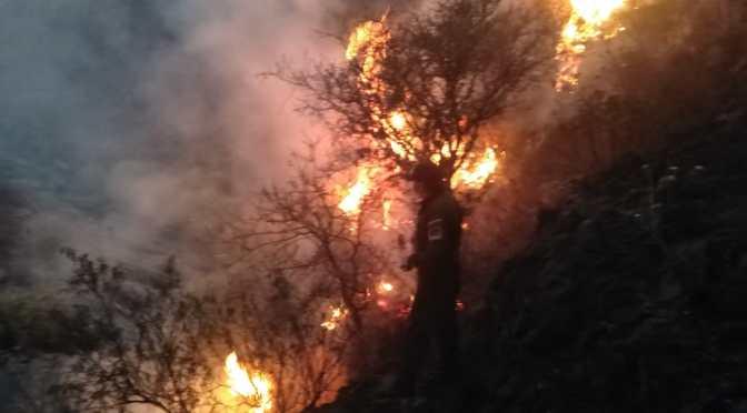 Cada año se hacen recurrentes los incendios en la zona de Pajchani