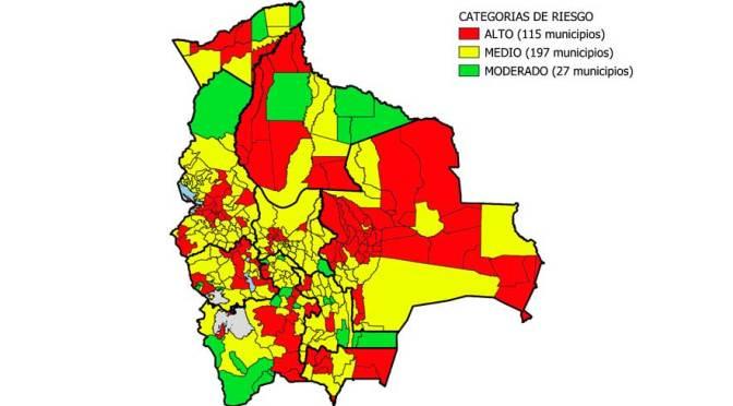 En una semana, 44 municipios bajan de riesgo alto a medio