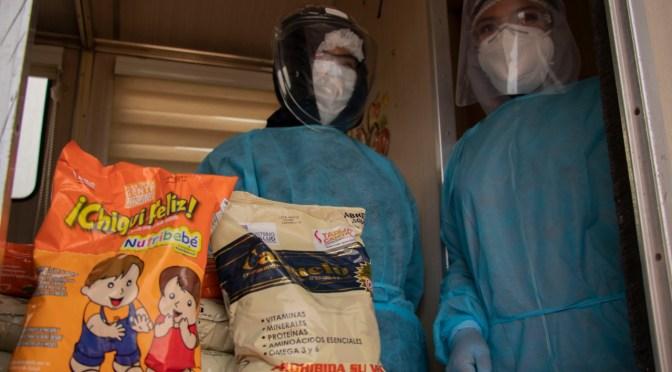 Brigadas de salud municipales entregan suplementos alimenticios y colocan vacunas en los barrios
