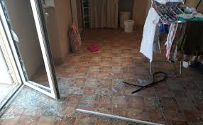 1 Los sospechosos violentaron los picaportes del domicilio para entrar a robar
