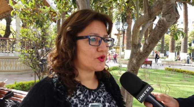 Diputada de UD denuncia que jueces y fiscales impiden avance de procesos contra Evo Morales