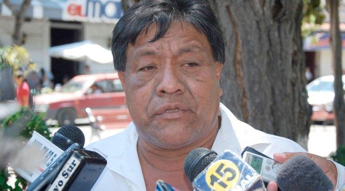 Sapiranda denuncia que Robert Ruiz entregó Bs 400 mil a dirigencia weenhayek paralela
