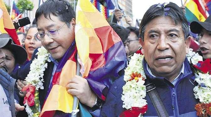 Choquehuanca dice que el entorno de Evo no puede volver al poder