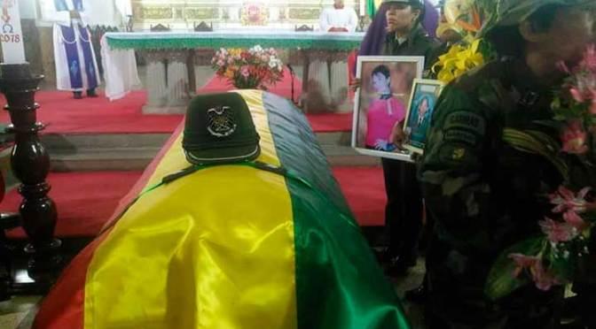 Juicio por el caso feminicidio de la sargento Janeth Alegria será este lunes