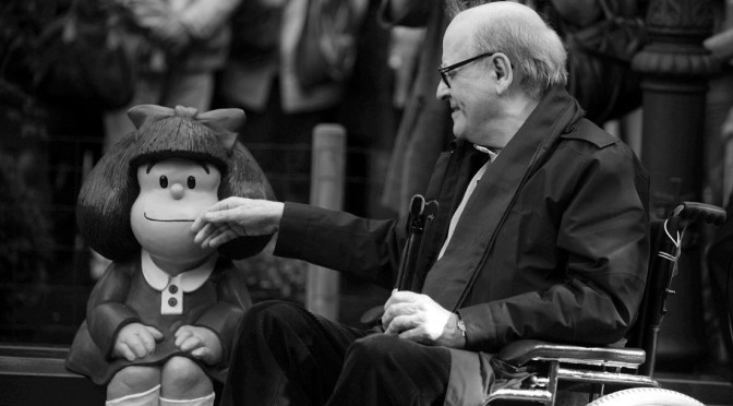 Fallece el reconocido dibujante argentino Quino, creador de Mafalda