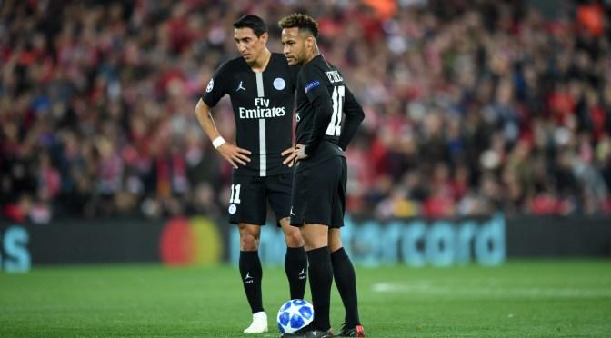 Los futbolistas de PSG Neymar, Di María y Paredes dan positivo por coronavirus