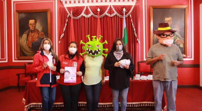 Lanzan campaña de prevención y socialización contra el Covid para niños de Tarija