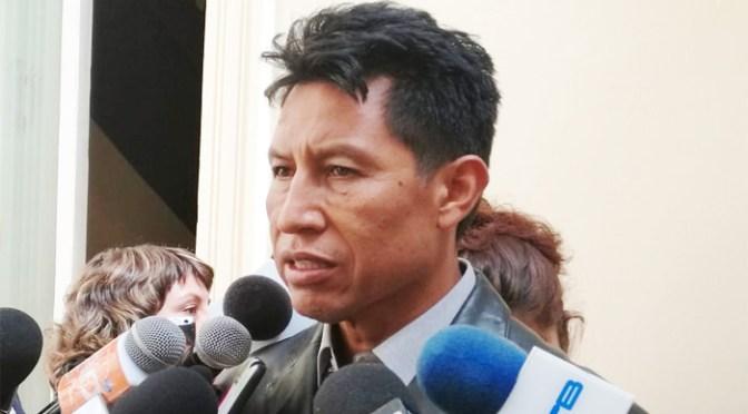 Rodríguez: La oferta de Luis Arce del 10% de AFPs es para salvar al vecino, no sirve de nada