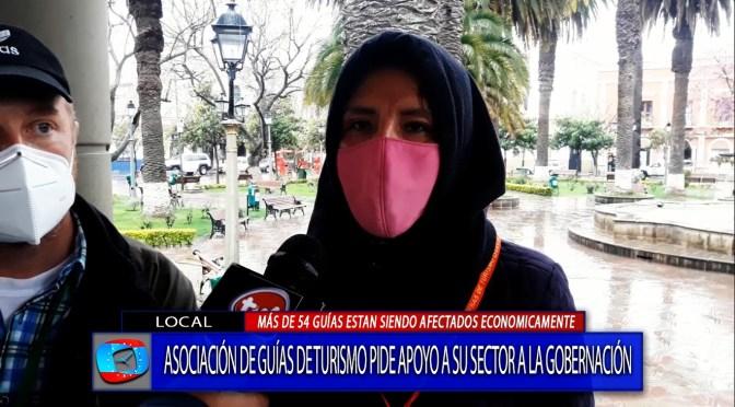 Guías de turismo piden apoyo a la Gobernación para superar la crisis económica