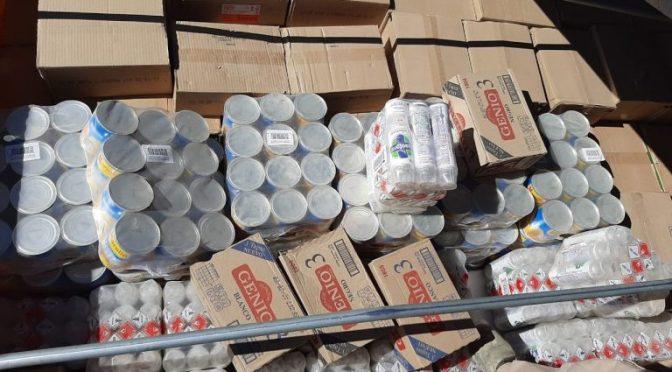 Tres camiones de contrabando son interceptados por la Aduana Nacional y Fuerzas Armadas en cercanías de Villazón