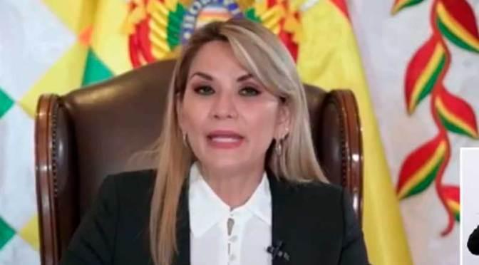 Añez anuncia que la próxima semana se pagará el Bono Juancito Pinto