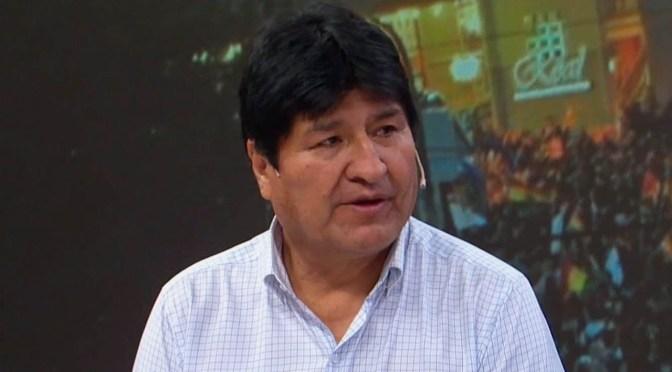 Estado boliviano demanda en la Corte Penal de la Haya a Evo Morales por «actos inhumanos»